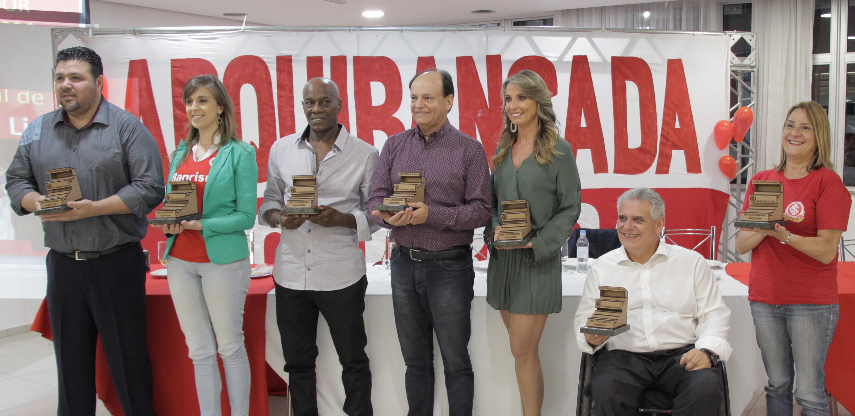 Homenageados Troféu Arquibancada Colorada 2016